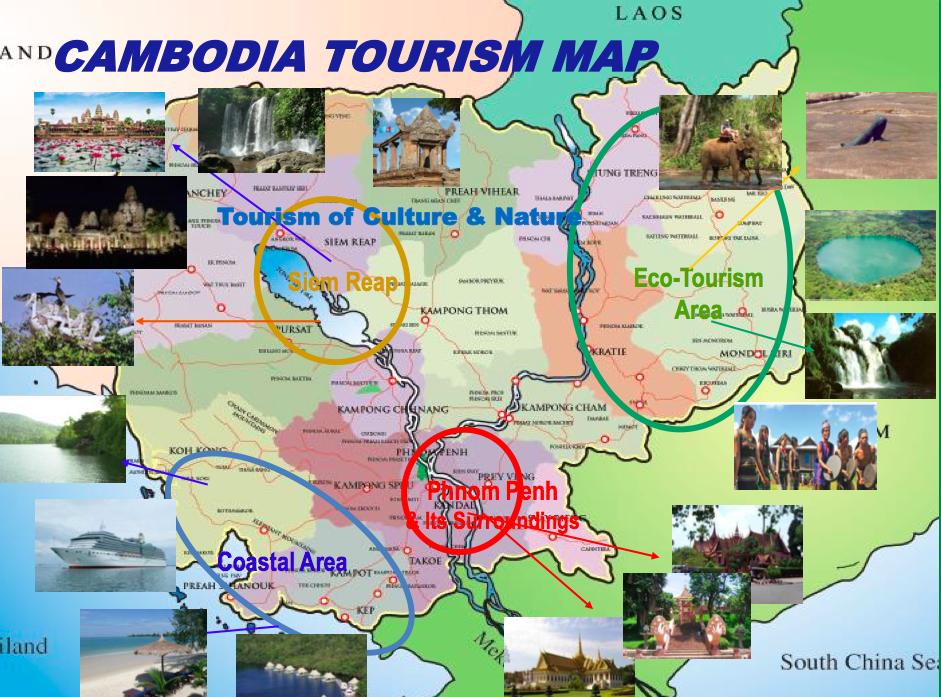 cambodia tourism zones
