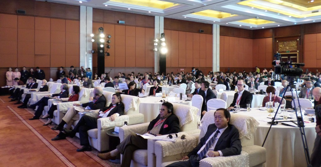 The attendance at the opening of the PATA conference in Leshan.
