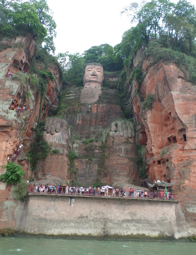 The Grand Buddha in Leshan