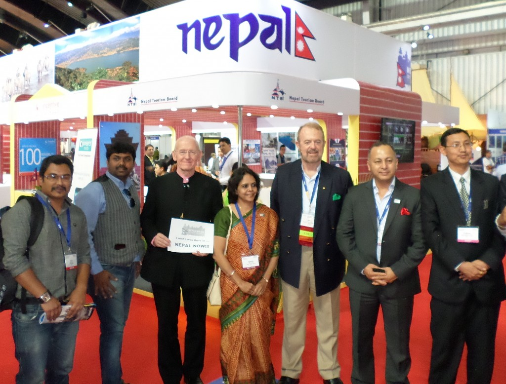 The Nepal stand
