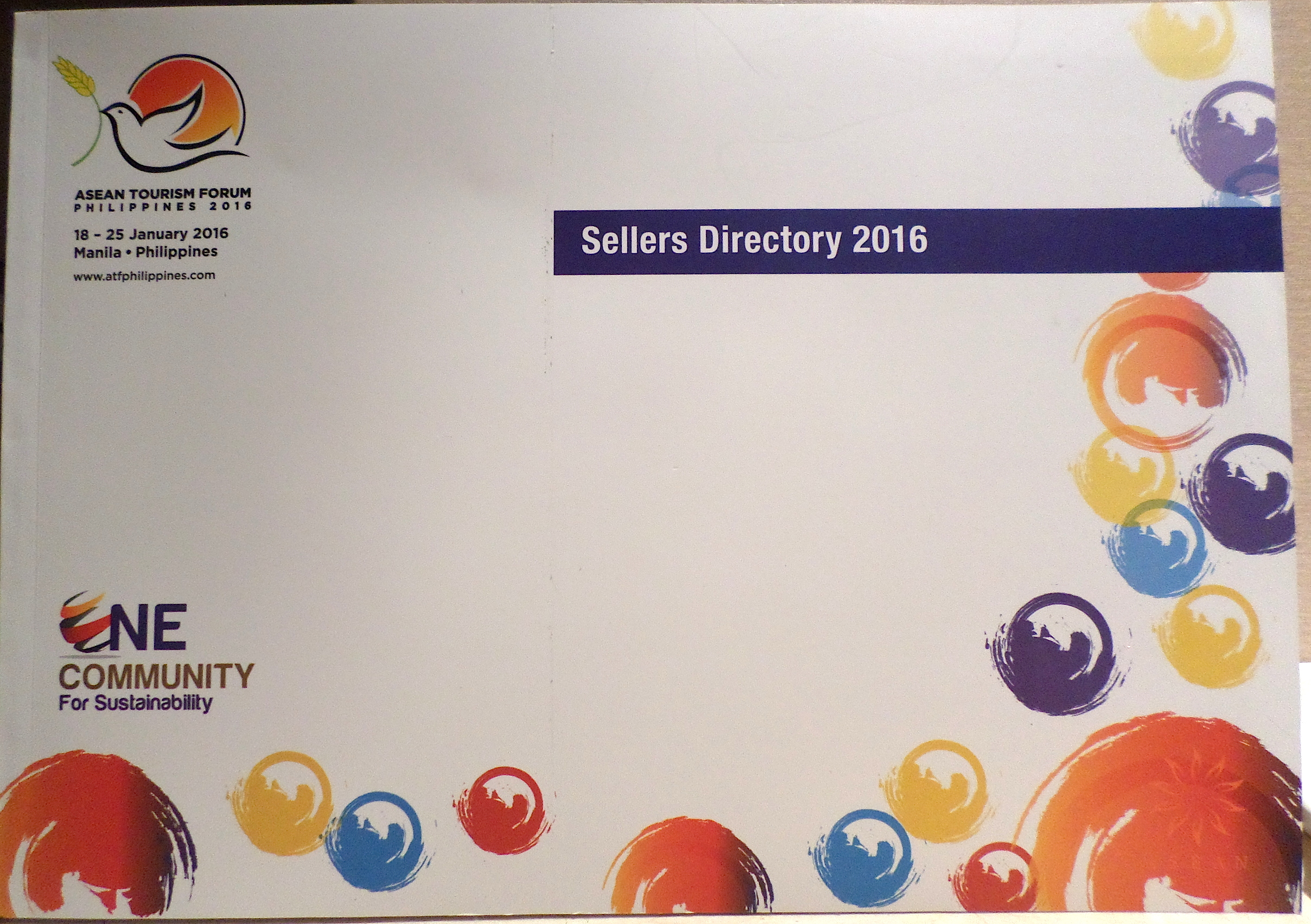 The buyers and sellers directories had no ASEAN emblem.