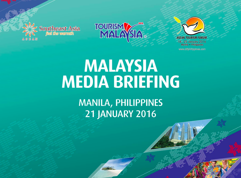 The Malaysia briefing included only the Southeast Asia logo, but no ASEAN.