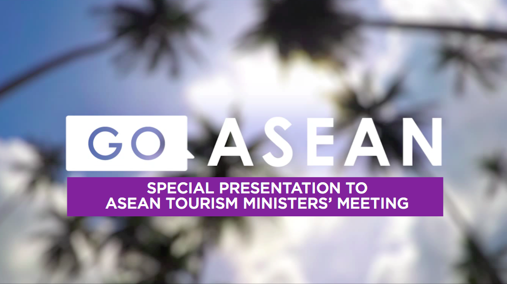 The presentation on a new TV channel refers clearly to ASEAN, not Southeast Asia.