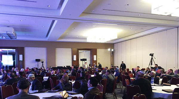 Nearly 200 participants attended the 1st International Conference of Muslim Councils in the West held at the Hyatt Regency Crystal City Hotel in Arlington, Va.