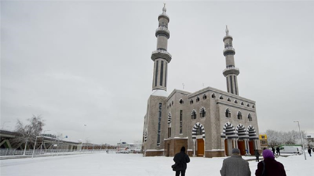 Essalam mosque in Rotterdam, the biggest in the country. Image from Al Jazeera