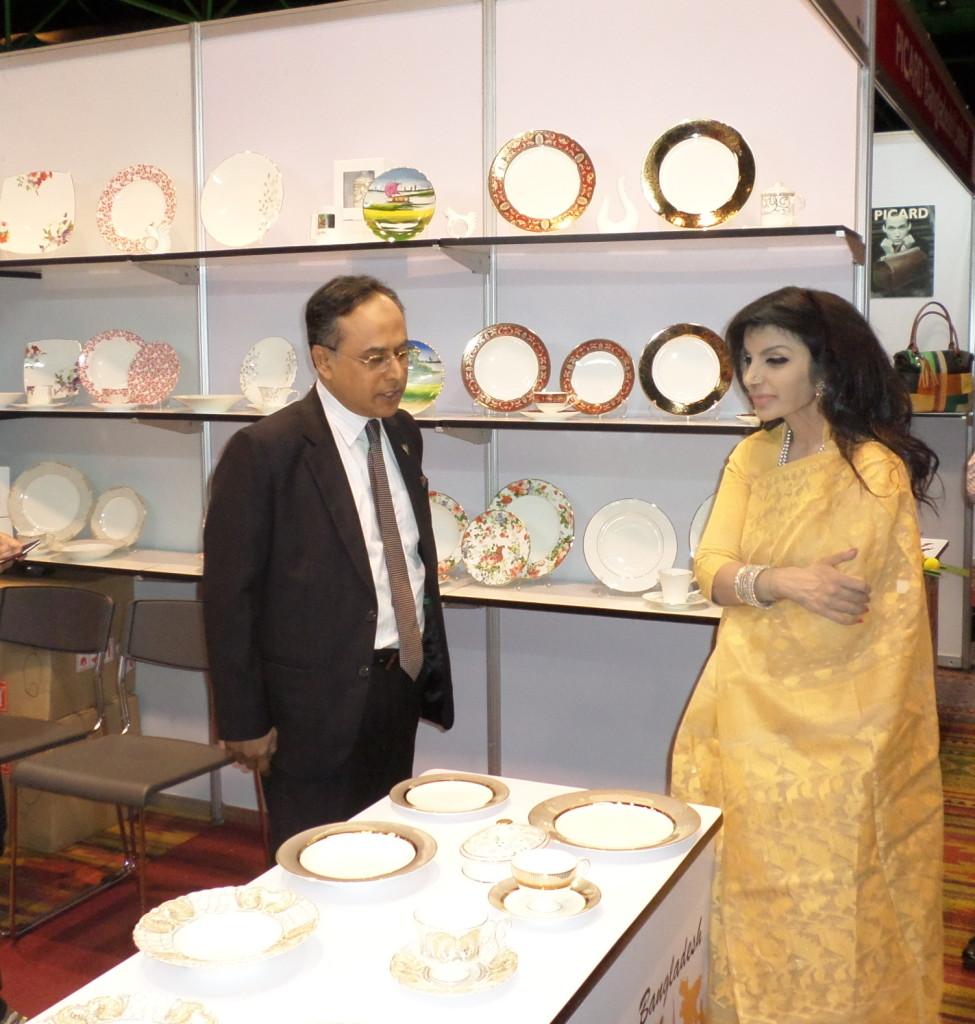 Ambassador to Thailand Saida Muna Tasneem
